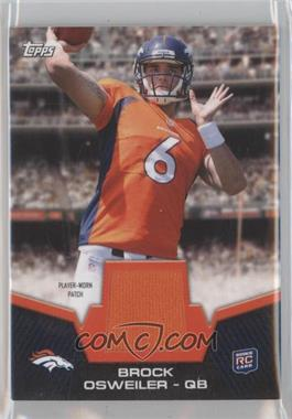 2012 Topps Rookie Patch #RP-BO - Brock Osweiler