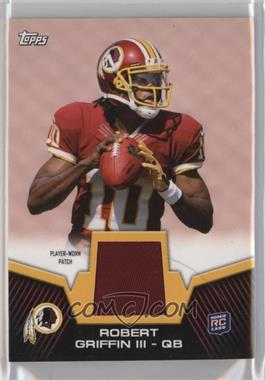 2012 Topps Rookie Patch #RP-RG - Robert Griffin III