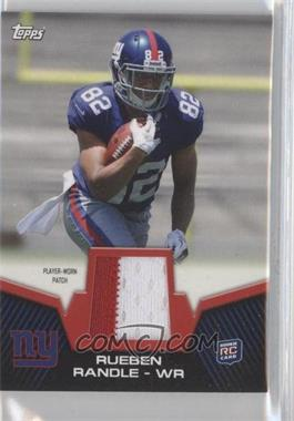 2012 Topps Rookie Patch #RP-RR - Rueben Randle
