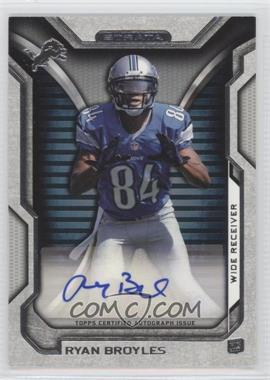 2012 Topps Strata - Rookie Autographs - [Autographed] #RA-RB - Ryan Broyles