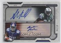 Rueben Randle, Stephen Hill /10