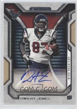 2012 Topps Strata Rookie Autographs Gold [Autographed] #RA-DJ - Dwight Jones /99