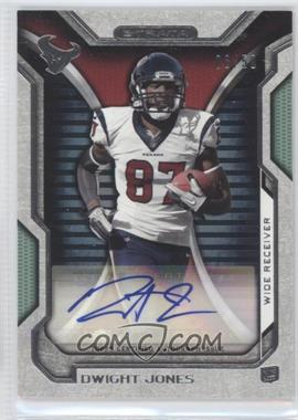 2012 Topps Strata Rookie Autographs Green [Autographed] #RA-DJ - Dwight Jones /50
