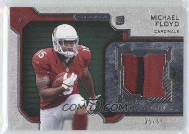 2012 Topps Strata Rookie Relics Green #RR-MF - Michael Floyd /65