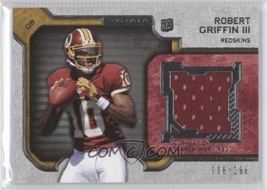 2012 Topps Strata Rookie Relics #RR-RG - Robert Griffin III /296