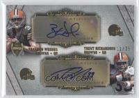 Brandon Weeden, Trent Richardson /25