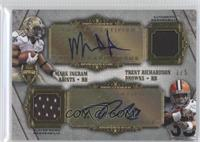 Mark Ingram, Trent Richardson /5