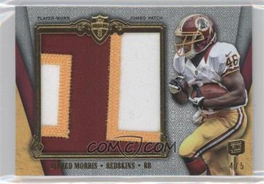 2012 Topps Supreme Jumbo Supreme Patch Relic #SJSP-AM - Alfred Morris /5