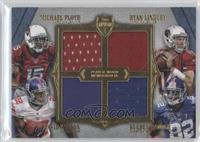 Michael Floyd, David Wilson, Ryan Lindley, Rueben Randle /10
