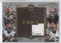 Trent Richardson, Brandon Weeden, Travis Benjamin, Josh Gordon /24