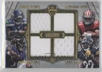 Bernard Pierce, Robert Turbin, LaMichael James, Chris Rainey /24