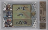 Robert Griffin III, Justin Blackmon, Trent Richardson /10 [BGS 9.5]