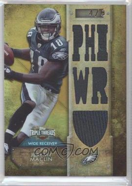 2012 Topps Triple Threads - Relics - Gold #TTR-98 - Jeremy Maclin /9