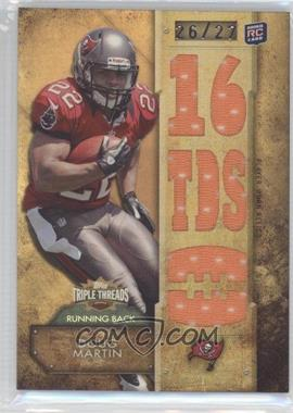 2012 Topps Triple Threads - Relics - Sepia #TTR-21 - Doug Martin /27