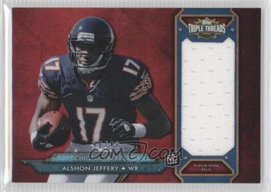 2012 Topps Triple Threads - Rookie Jumbo Relic #TTRJR-57 - Alshon Jeffery /99