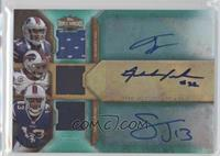 T.J. Graham, Fred Jackson, Steve Johnson /18