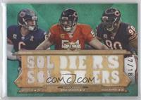 Brian Urlacher, Julius Peppers, Jay Cutler /18
