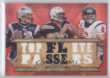 2012 Topps Triple Threads Relic Combos #TTRC-23 - Tom Brady /36