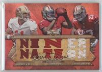 Alex Smith, A.J. Jenkins, LaMichael James /36