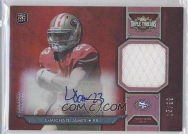 2012 Topps Triple Threads Rookie Autograph Relics #TTRAR-62 - LaMichael James /99