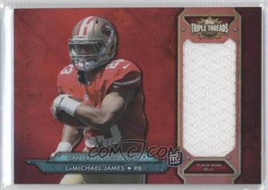 2012 Topps Triple Threads Rookie Jumbo Relic #TTRJR-61 - LaMichael James /99