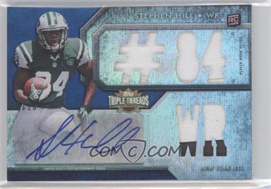 2012 Topps Triple Threads Sapphire #121 - Stephen Hill /10