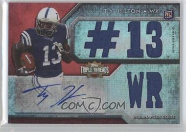 2012 Topps Triple Threads #111 - T.Y. Hilton