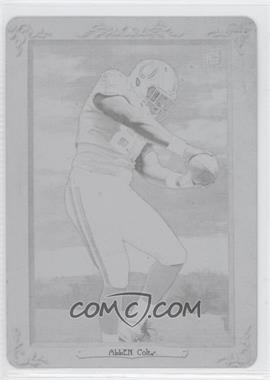 2012 Topps Turkey Red - [Base] - Printing Plate Black #33 - Dwayne Allen /1