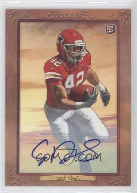 2012 Topps Turkey Red Autographs #31 - Cyrus Gray /50