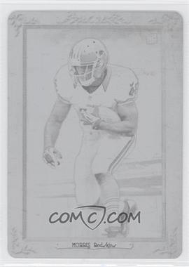 2012 Topps Turkey Red Printing Plate Black #34 - Alfred Morris /1