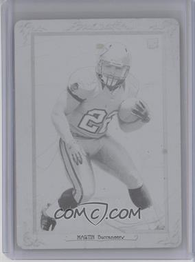 2012 Topps Turkey Red Printing Plate Black #80 - Doug Martin /1
