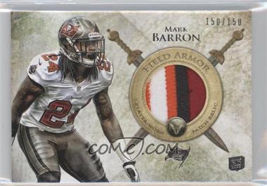 2012 Topps Valor - Field Armor Patch #FAP-MB - Mark Barron /150
