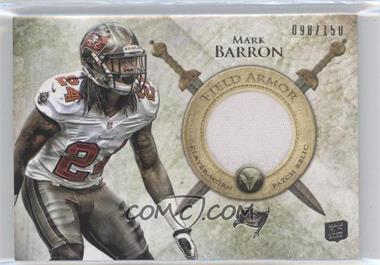 2012 Topps Valor Field Armor Patch #FAP-MB - Mark Barron /150