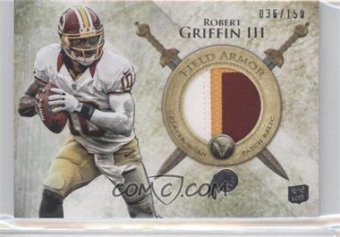 2012 Topps Valor Field Armor Patch #FAP-RG - Robert Griffin III /150