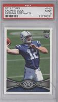 Andrew Luck (Ball partly out of frame) [PSA 9]