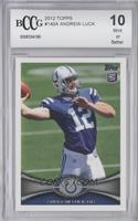 Andrew Luck (Ball partly out of frame) [ENCASED]