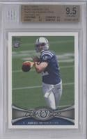 Andrew Luck (Short Print: Beginning to Cock Arm Back) [BGS9.5]