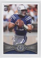 Andrew Luck (Short Print: Ball in Both Hands)