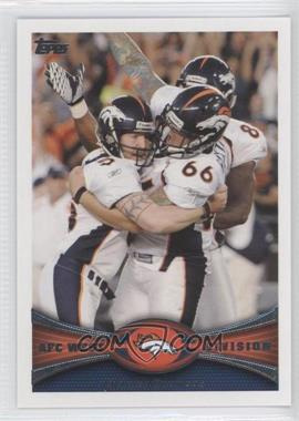 2012 Topps #324 - Denver Broncos Team