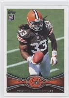 Trent Richardson (Short Print: Field in Background)