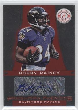 2012 Totally Certified - [Base] - Platinum Red #105 - Bobby Rainey /290