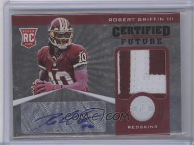 2012 Totally Certified - Certified Future Signature Materials - Prime #1 - Robert Griffin III /49 [Near Mint‑Mint+]