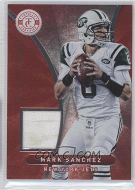 2012 Totally Certified Platinum Red Materials [Memorabilia] #51 - Mark Sanchez /299
