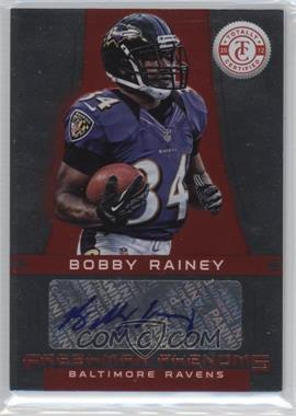 2012 Totally Certified Platinum Red #105 - Bobby Rainey /290