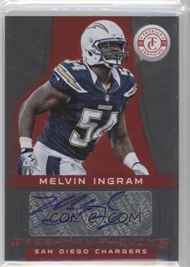 2012 Totally Certified Platinum Red #154 - Melvin Ingram /290