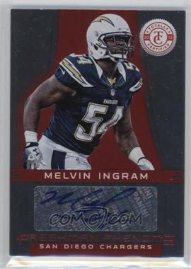 2012 Totally Certified Platinum Red #154 - Melvin Ingram /290