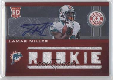 2012 Totally Certified Platinum Red #219 - Lamar Miller /199