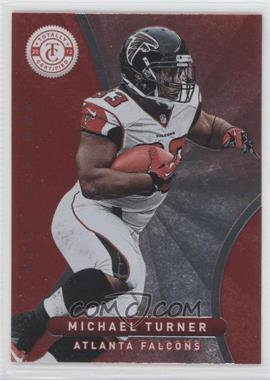 2012 Totally Certified Platinum Red #48 - Michael Turner