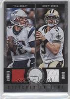Drew Brees, Tom Brady /199
