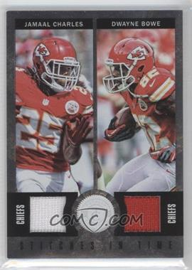 2012 Totally Certified Stitches in Time Materials #36 - Dwayne Bowe, Jamaal Charles /199